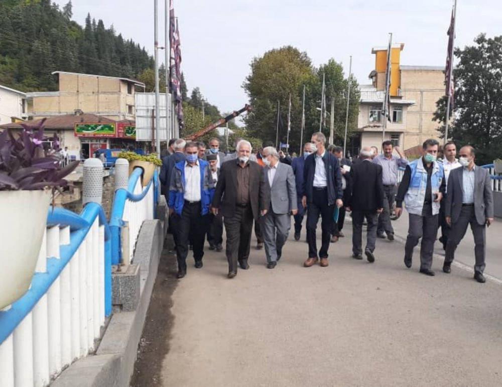 بازگشایی پل شهر تالش