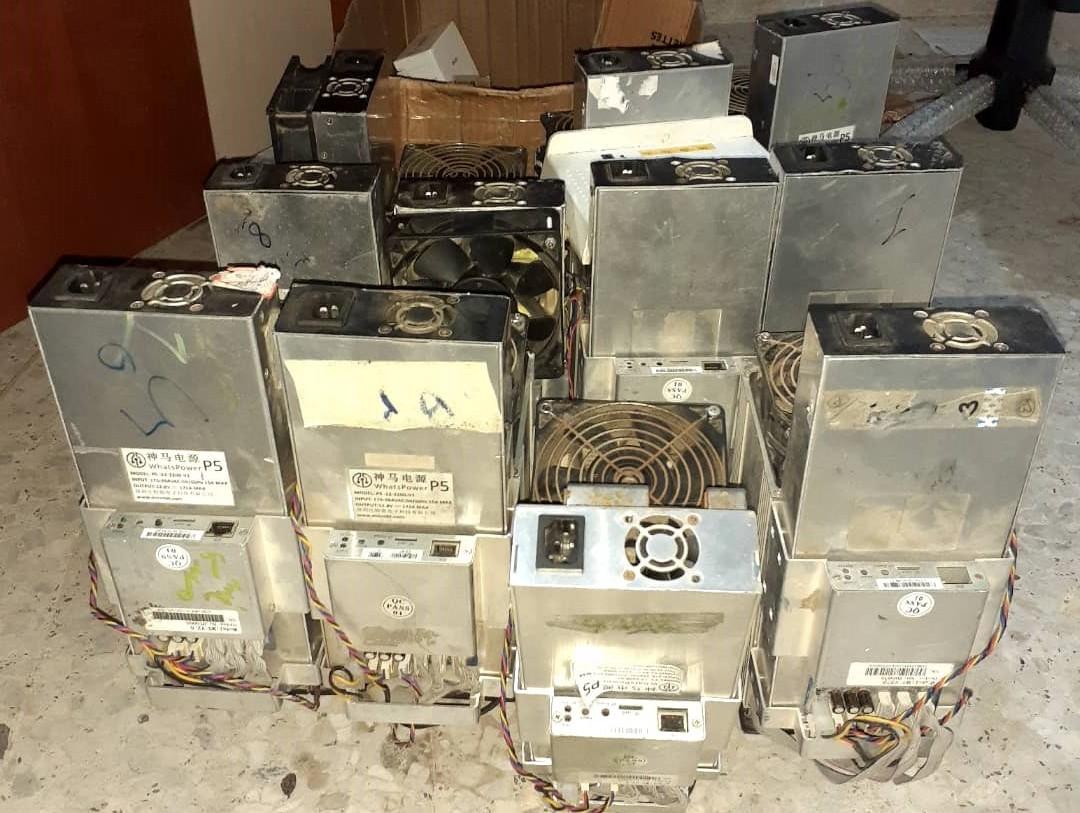 کشف ۱۱ دستگاه استخراج ارز دیجیتال