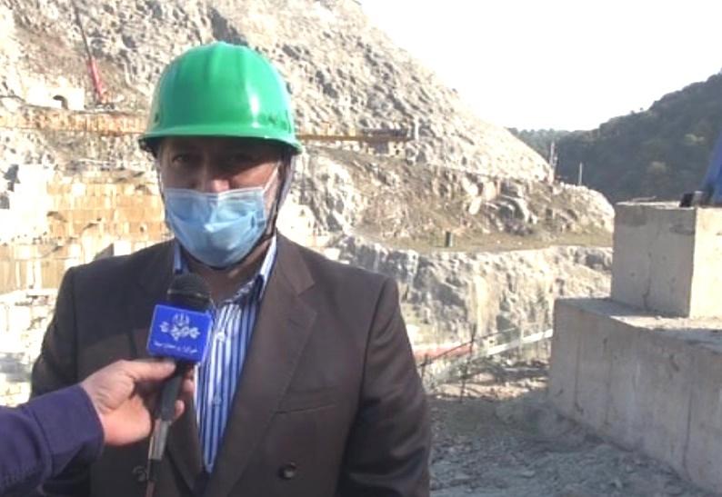 بازدید مسئولان دستگاه قضا از سد شفارود