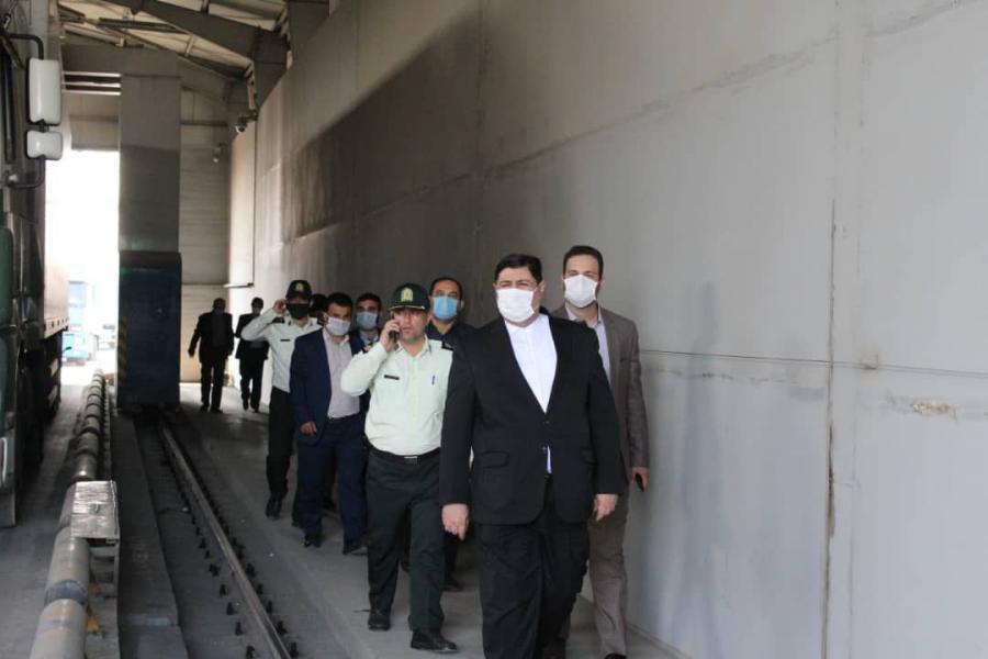 دبیر شورای هماهنگی مبارزه با مواد مخدر از گلو گاه ایست و بازرسی سه راه قلعه شهرستان بندر مرزی آستارا بازدید کرد