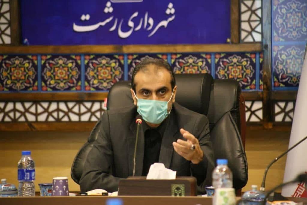 بهره برداری از پروژه خیابان ۸ دی رشت در عید سعید فطر