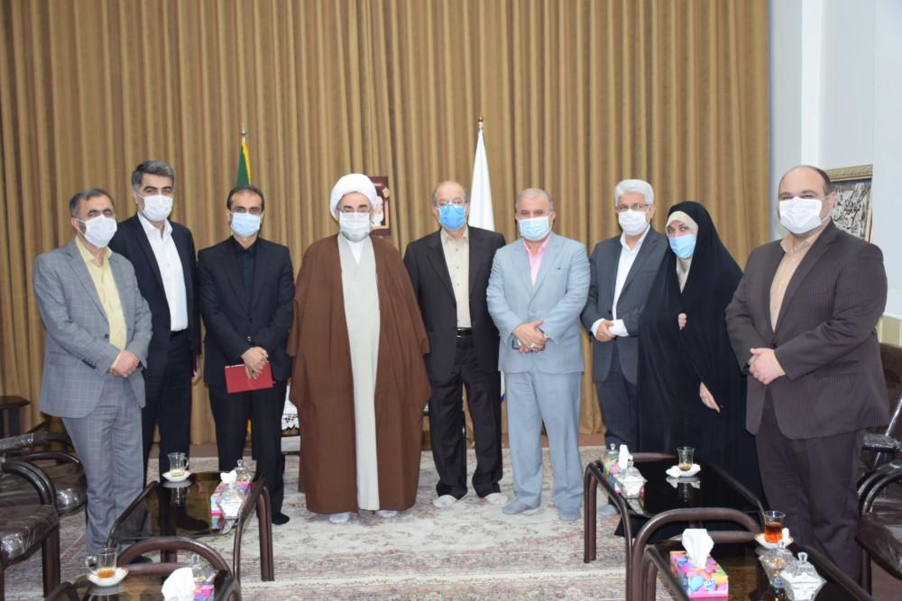 دیدار با شهردار و اعضای شورای شهر رشت