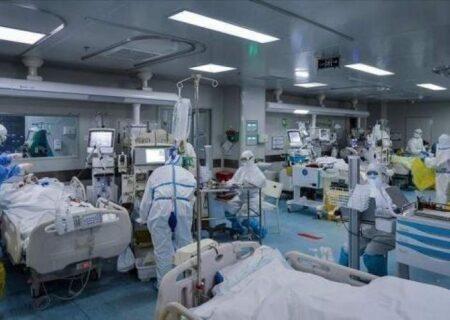 سه رقمی شدن بیماران بدحال کرونایی