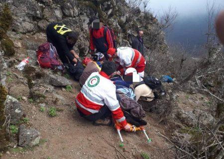 فوت یک کوهنورد بر اثر سقوط در ارتفاعات تالش