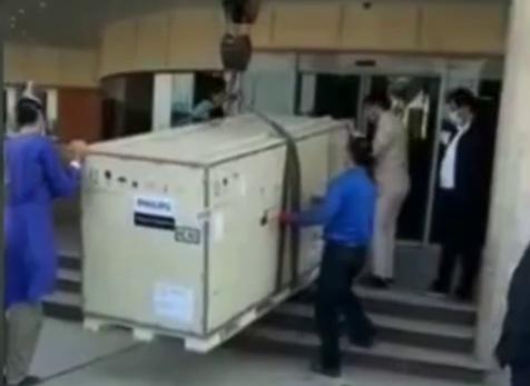 اهدای سی تی اسکن به بیمارستان لنگرود