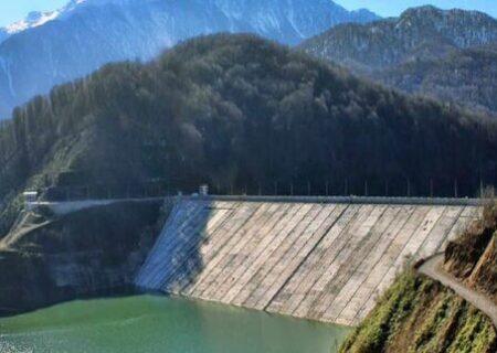 کاهش ذخیره آب بزرگ ترین سد مخزنی گیلان