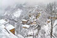 طبیعت رویایی ماسوله در برف