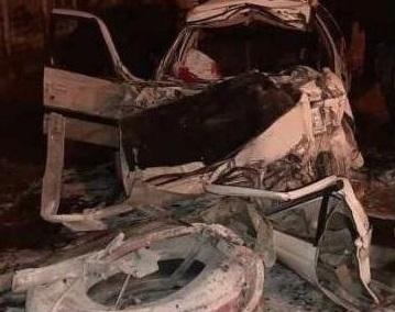 ۳ کشته بر اثر برخورد خودروی سواری به بلوار