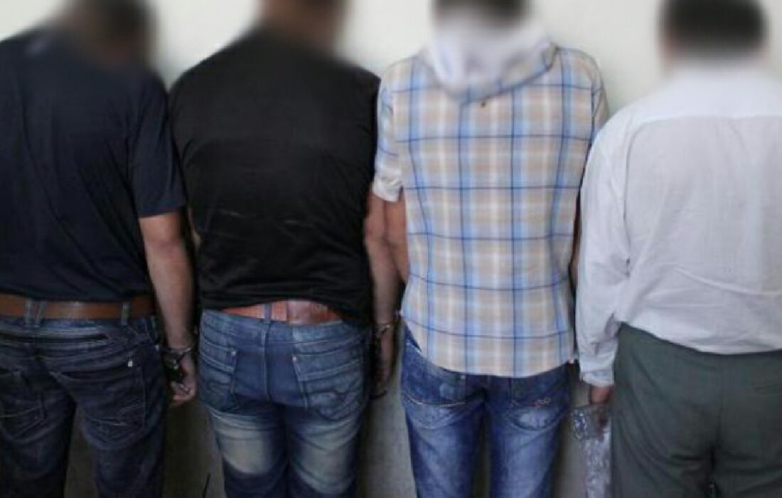 انهدام باند سارقان با ۲۵ فقره سرقت و دستگیری ۴ نفر در رشت