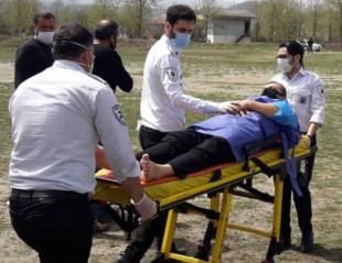 انتقال بیمار آستاریی با اورژانس هوایی