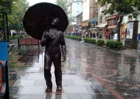رفت و برگشت هوای خنک و بارانی در گیلان