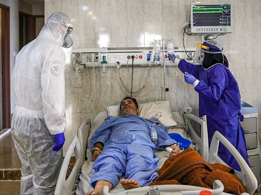 تعداد بیماران بستری کرونایی در گیلان از مرز ۸۰۰ نفر عبور کرد