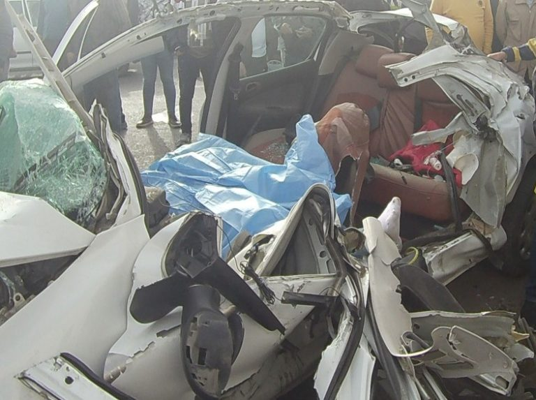 تصادف شدید در محور تالش به آستارا جان یک نفر را گرفت