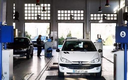 نرخ جدید معاینه فنی خودروها در سال ۱۴۰۰