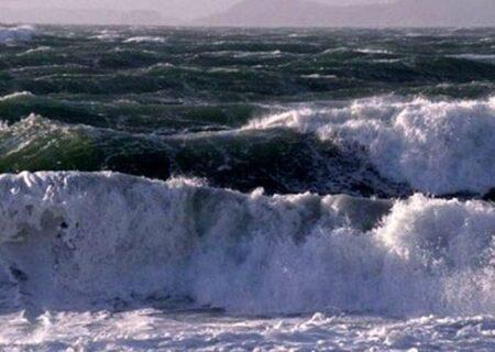 وضعیت نامناسب دریای خزر برای دریانوردی
