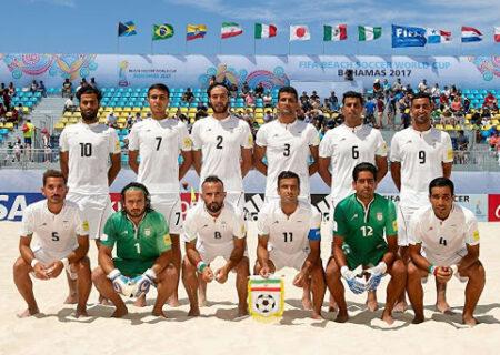 حذف عجیب تیم ملی فوتبال ساحلی ایران از جام جهانی با تصمیم AFC