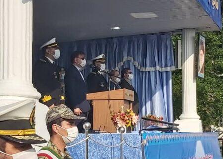 برگزاری مراسم روز ارتش در رشت