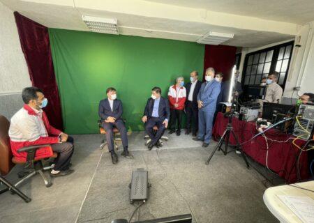 افتتاح استودیو هلال گیلان