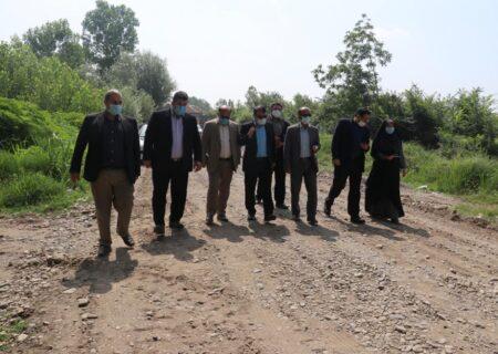 آغاز عملیات اجرایی بهسازی و زیر سازی راه های روستایی در رشت