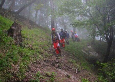 نجات ۳۶ گمشده در ارتفاعات گیلان