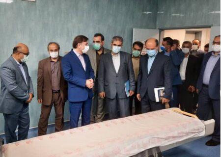 افتتاح بیمارستان ۱۳۵ تختخوابی شهید حسین پور لنگرود