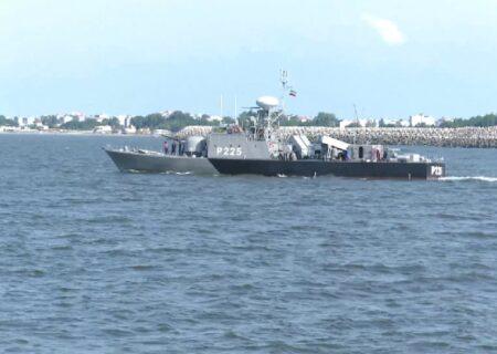 آغاز تمرین دریایی امنیت پایدار در دریای خزر