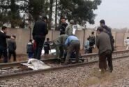 درگذشت مغانلو در تصادف با قطار