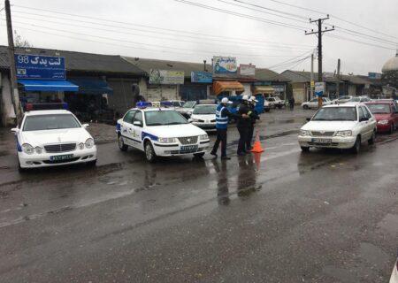 جریمه ۲۰۰ خودروی پلاک غیربومی در ورودیهای گیلان