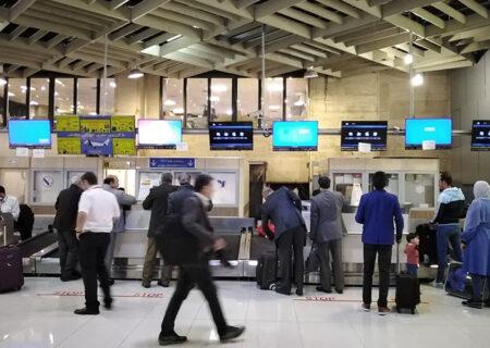 تعطیلی دو ساعته فرودگاههای تهران در روز تحلیف
