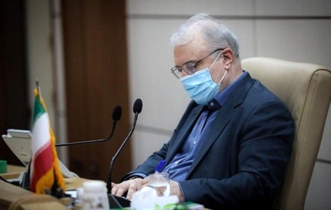 درخواست نمکی از رهبری برای قرنطینه کشوری با بکارگیری نیرو های نظامی و انتظامی
