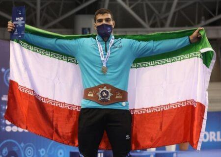 پسر فردین قهرمان جهان شد