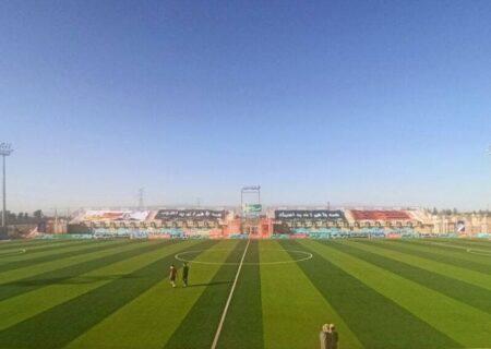 بازی در چمن مصنوعی در لیگ بعد ممنوع شد