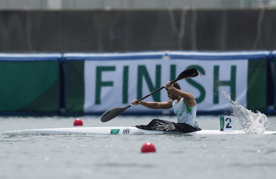 حذف قایقران گیلانی تیم المپیک از کایاک ۱۰۰۰ متر المپیک توکیو