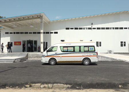 ساخت بیمارستان صحرایی ۳۰۰ تختخوابی در لاکان رشت