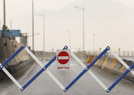طرح محدودیت تردد به شهرهای قرمز و نارنجی همچنان ادامه دارد