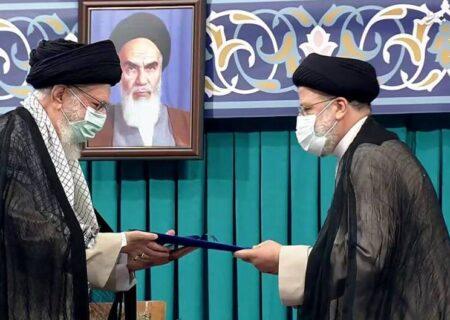 هشتمین رییسجمهوری ایران با حکم رهبر انقلاب تنفیذ شد