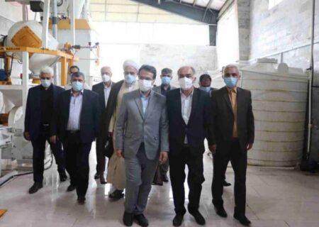 افتتاح ۲ واحد صنعتی به مناسبت هفته دولت در شهرک صنعتی صومعه سرا