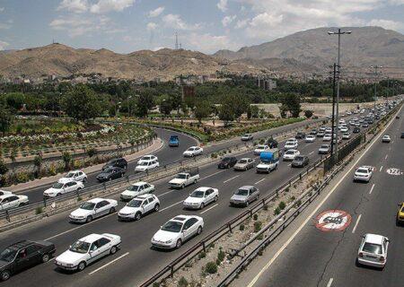 ترافیک روان و جادههای آرام گیلان
