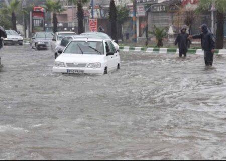 هشدار سازمان هواشناسی برای وقوع سیلاب در استان های شمالی