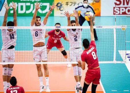 رویارویی ایران و ژاپن در فینال والیبال قهرمانی آسیا