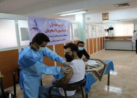 ۶۵ درصد گیلانیان واکسن زدند