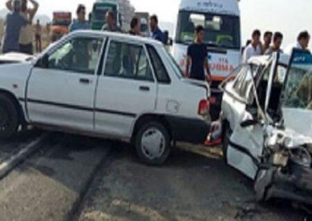 امداد رسانی به مصدومان یک حادثه رانندگی در سنگر