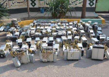 جریمه میلیاردی کاربر دستگاه ماینر قاچاق در بندرانزلی