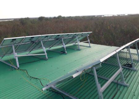 تجهیز پاسگاههای محیط بانی گیلان به نیروگاه خورشیدی