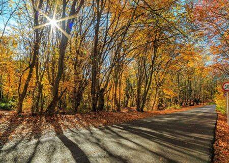 پایان هفته پاییزی گیلان گرم و آفتابی